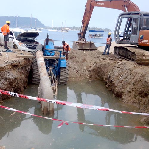 Port-Vila-waterfront-project-installation-of-wastewater-pipes
